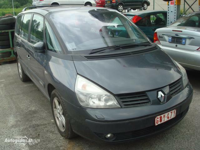 Renault Espace IV 2,0T DVD TV 2004 m dalys