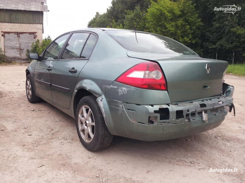 Renault Megane II 2005 m. dalys