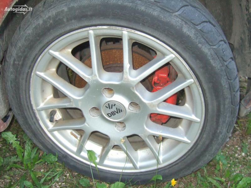 Opel Tigra R15 lengvojo lydinio  ratlankiai