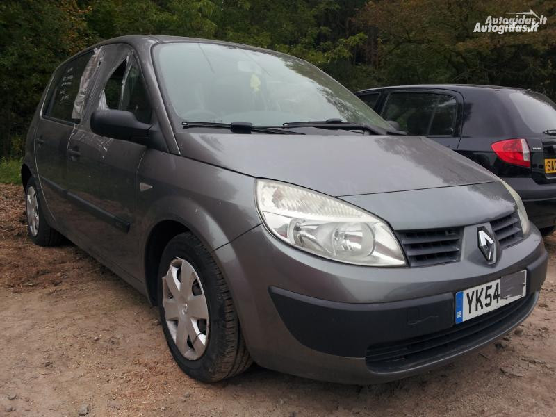 Renault Scenic II 2004 m. dalys