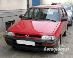 Subaru Justy 1992 m dalys
