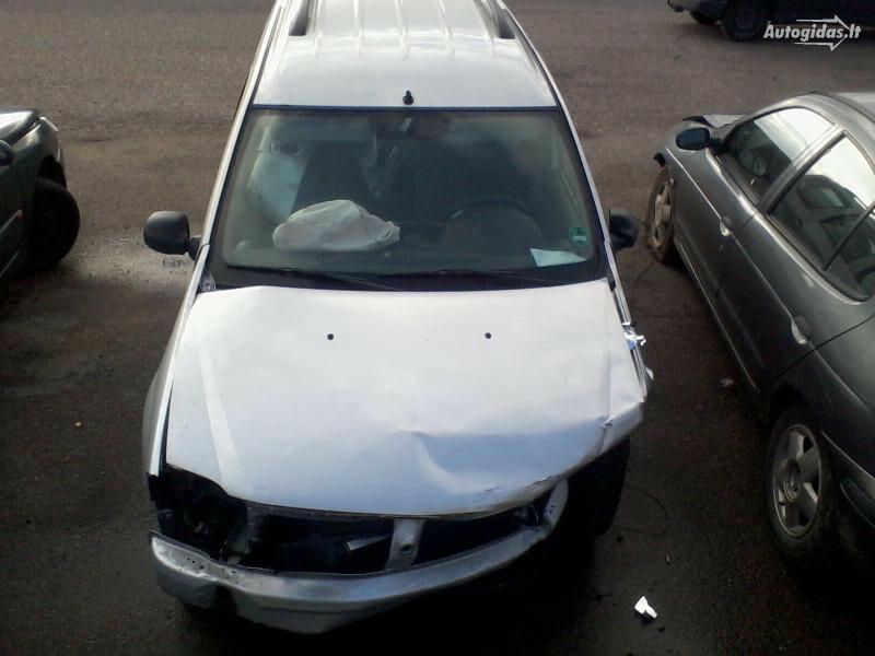Dacia Logan 2008 m dalys