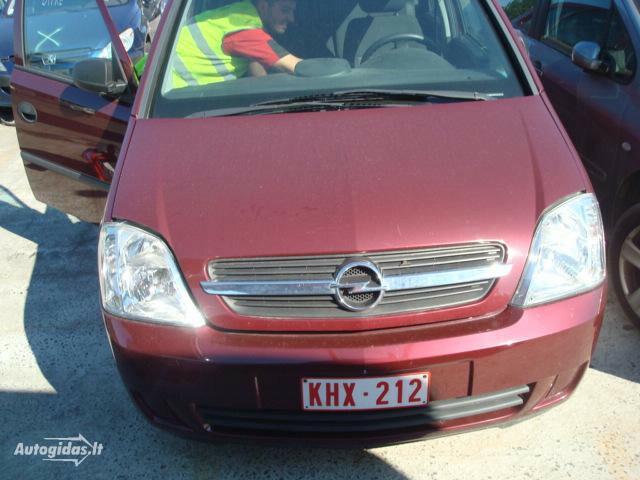 Opel Meriva I iš vokietijos 2004 m dalys