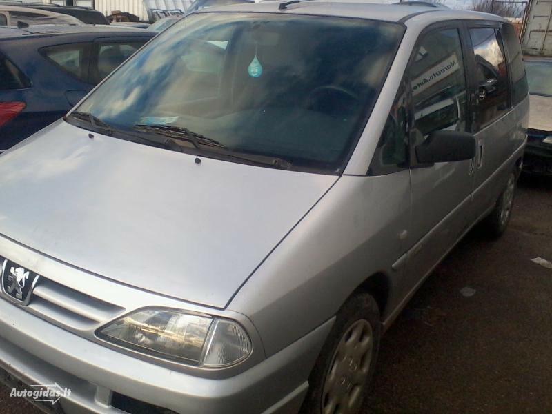 Peugeot 806 16v 2002 m dalys