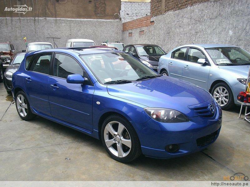 Mazda 3 I 2005 m dalys