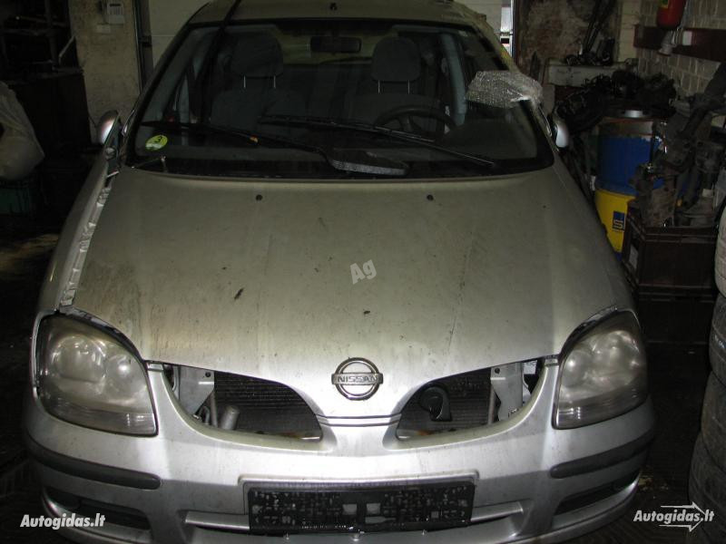 Nissan Almera Tino 2004 m dalys