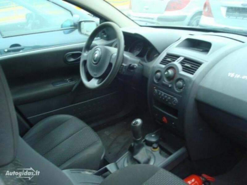 Renault Megane II iš vokietijos 2004 г запчясти
