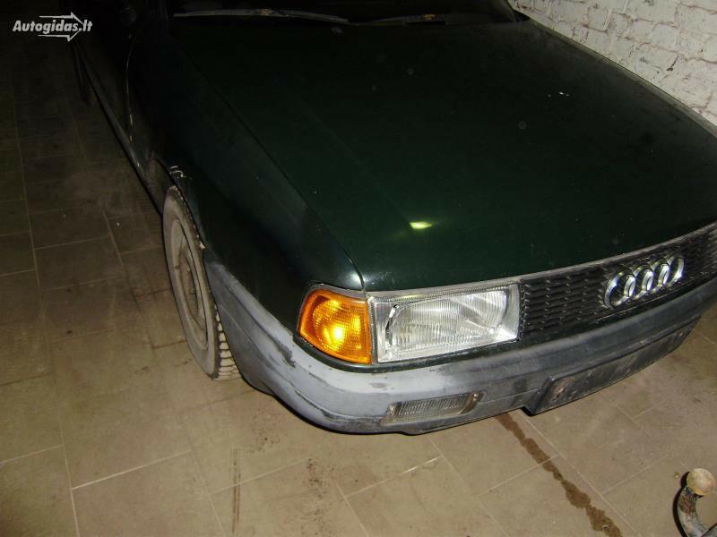 Audi 80 B3 1989 m dalys