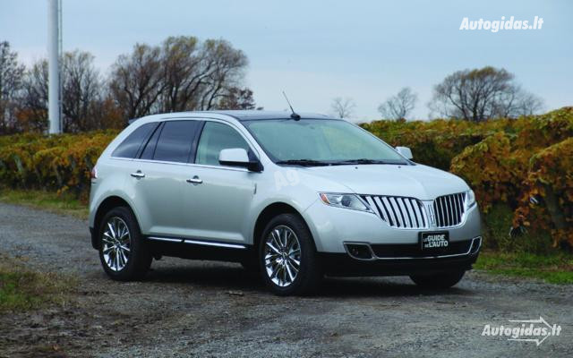 Lincoln Mkx 2012 m dalys