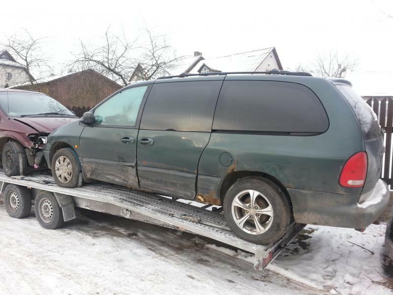 Dodge Grand Caravan 2000 y. parts