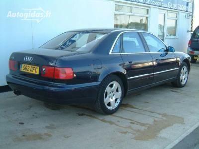 Audi A8 D2 1998 m dalys