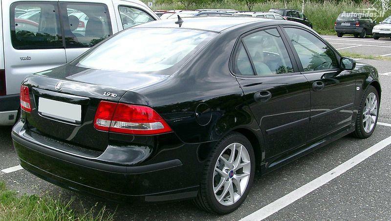 Saab 9-3 II 2004 m. dalys