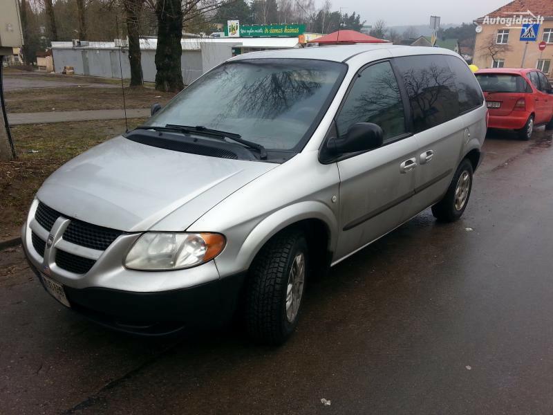 Dodge Caravan III 2001 г запчясти