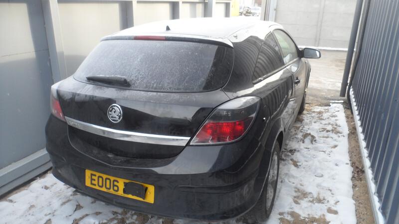 Opel Astra III 2007 y parts
