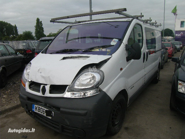 Renault Master III 2007 m dalys