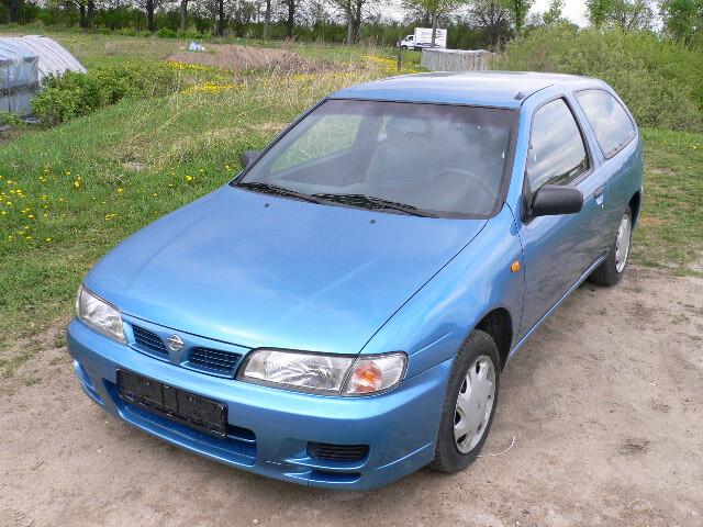 Nissan Almera N15 1999 m dalys