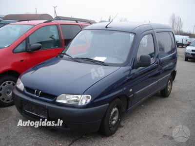 Peugeot Partner I Dyzelis Benzinas 1997 m dalys