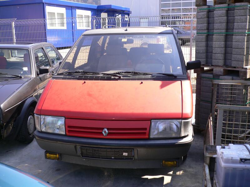 Renault Espace I 1990 m dalys