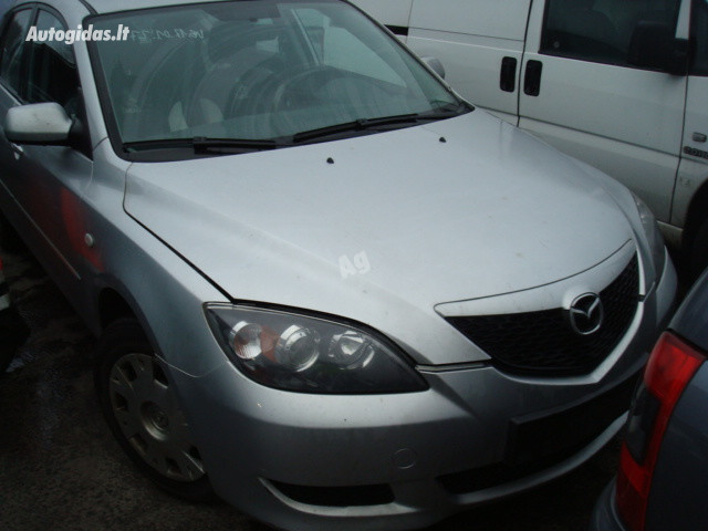 Mazda 3 I Europa 2004 m dalys