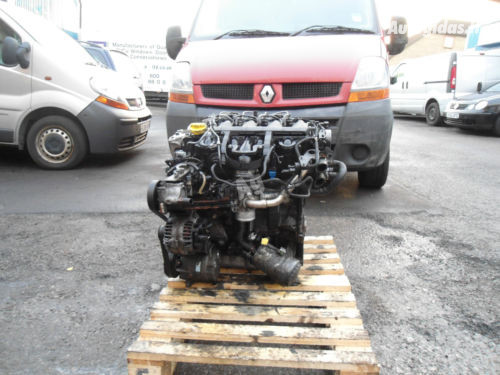 Renault Master II 2003 m dalys