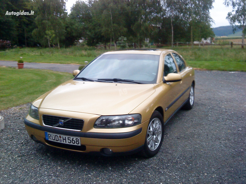 Volvo S60 I Turbo 2004 m dalys