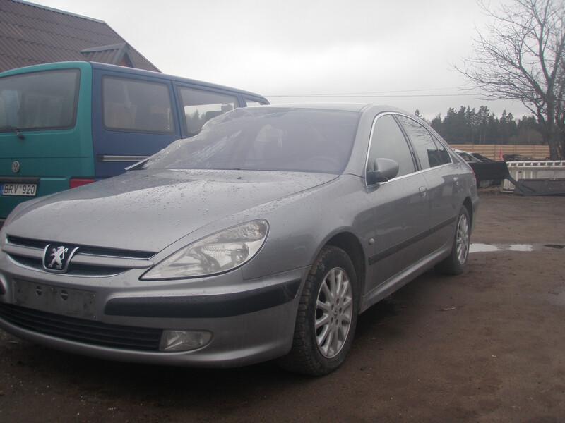 Peugeot 607 2002 г. запчясти