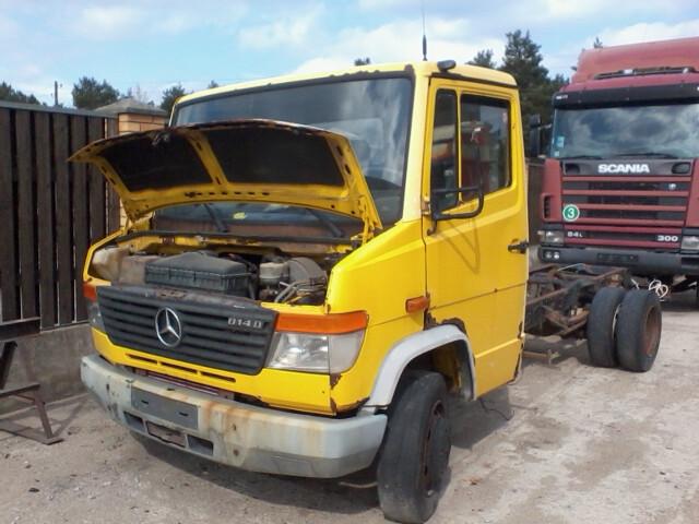 Furgonas, sunkvežimis iki 7,5t. Mercedes-Benz 814 2004 m. dalys