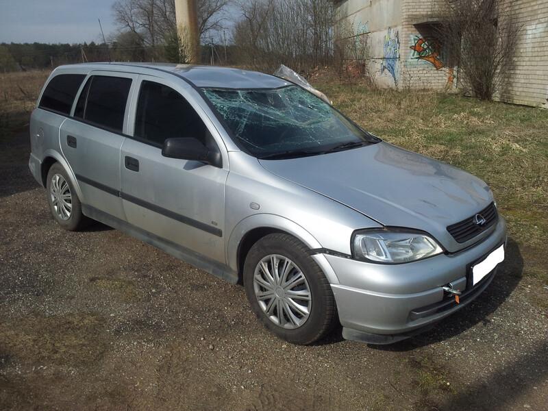 Opel Astra II 59KW 2005 m dalys