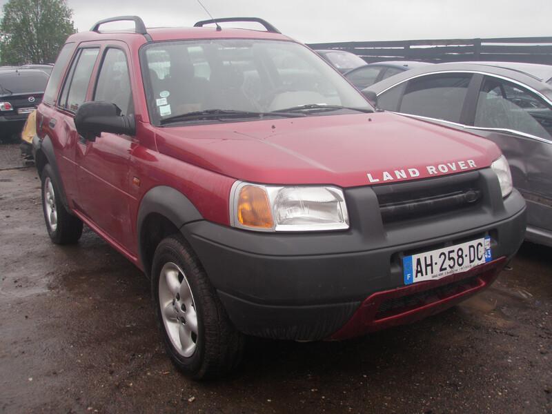 Land Rover Freelander 2003 m dalys