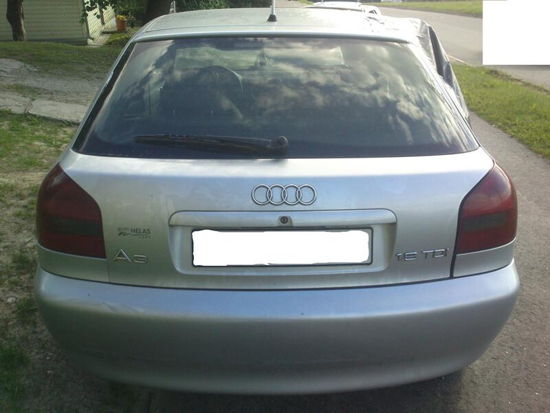 Audi A3 8L 66KW 1998 m dalys