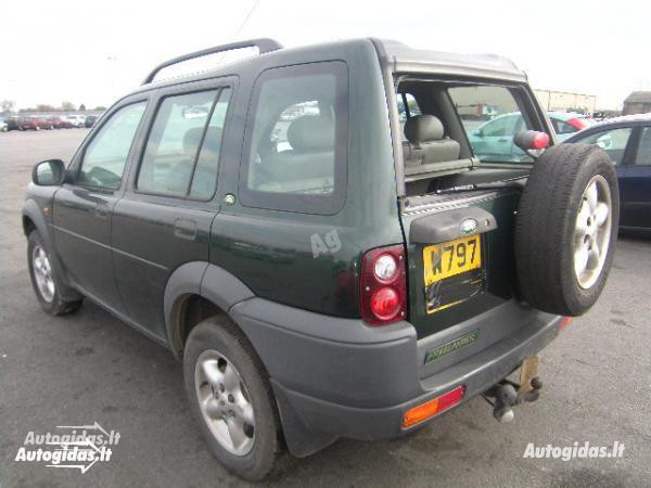 Land-Rover Freelander I 2000 y. parts