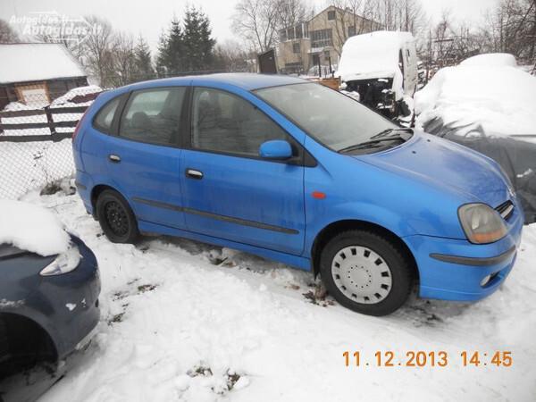 Nissan Almera Tino 2000 y. parts