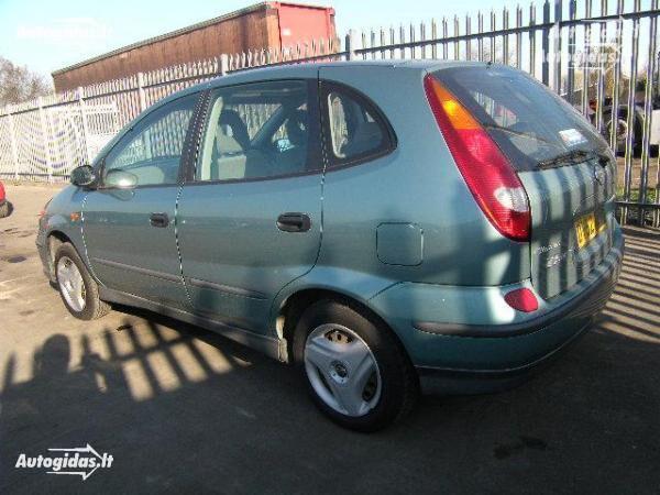 Nissan Almera Tino 2002 y. parts