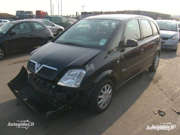 Opel Meriva I 2005 y. parts