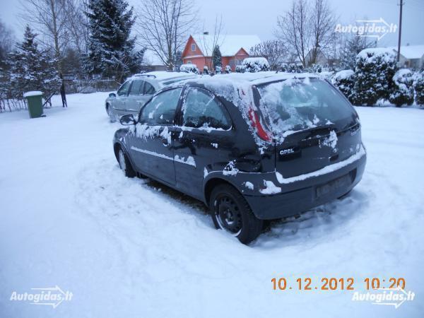 Opel Corsa C 2001 m. dalys