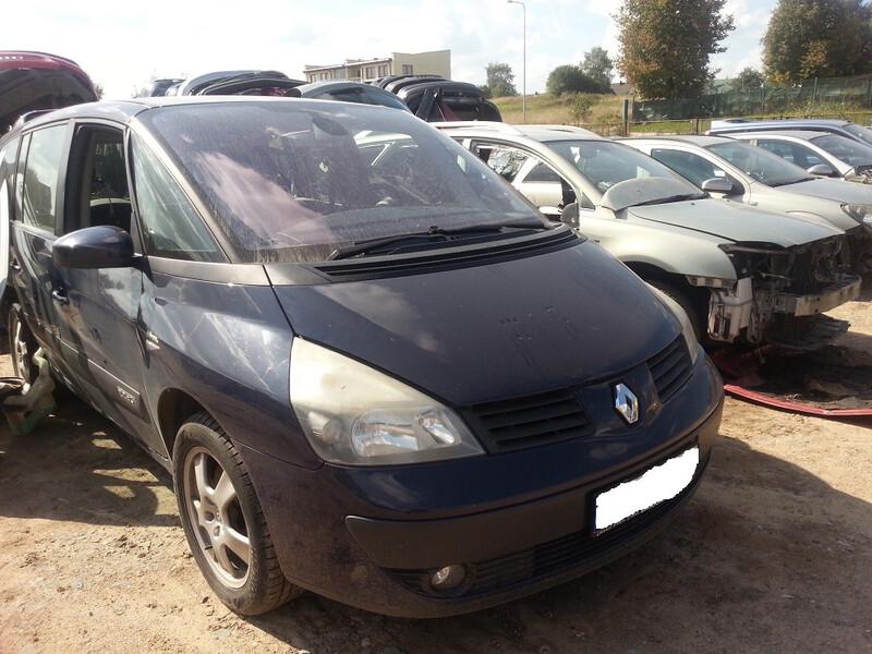 Renault Espace IV 2005 y. parts