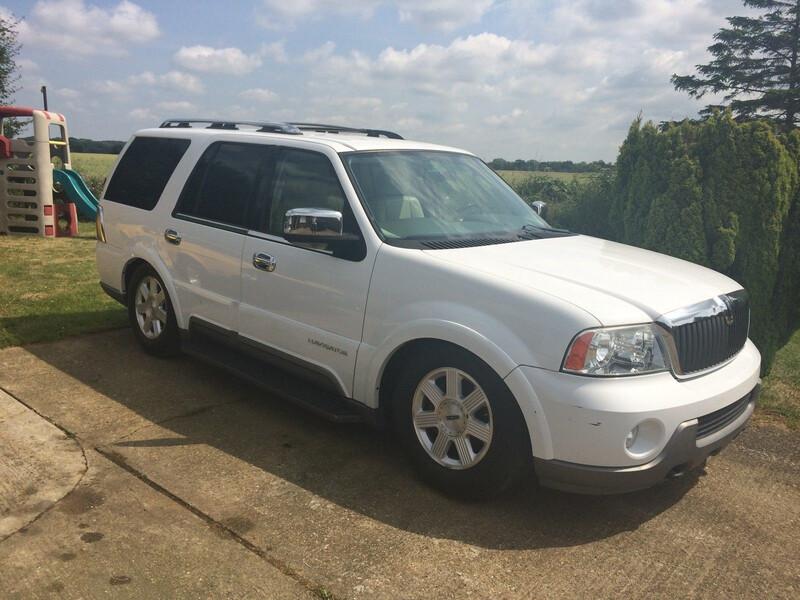 Lincoln Navigator 2003 m dalys