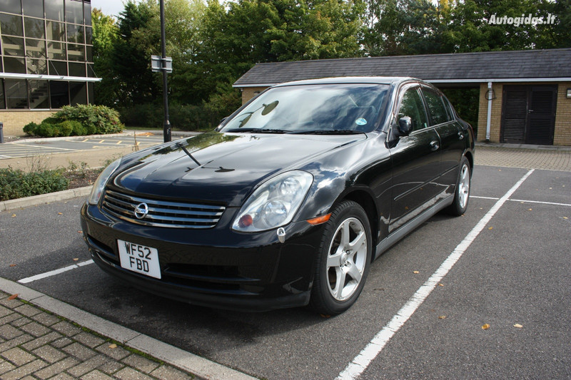 Nissan Skyline 2003 m dalys
