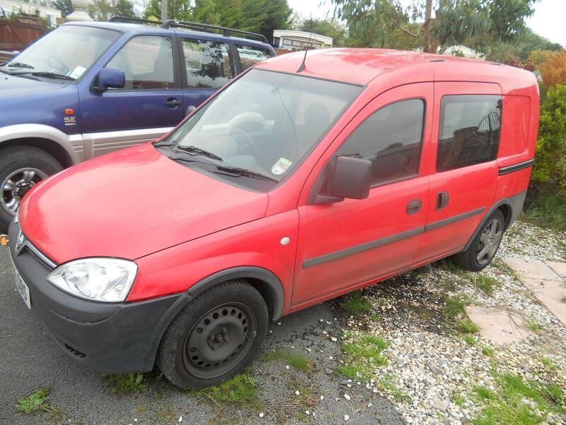 Opel Combo 2005 m dalys
