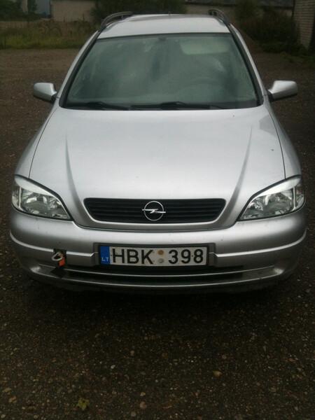 Opel Astra I 2000 m dalys