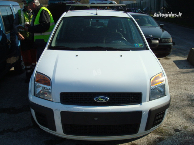Ford Fusion Europa 2007 m dalys