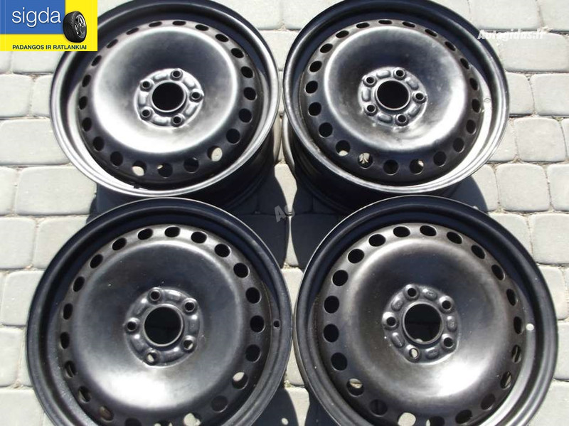 Ford R16 стальные штампованные  диски