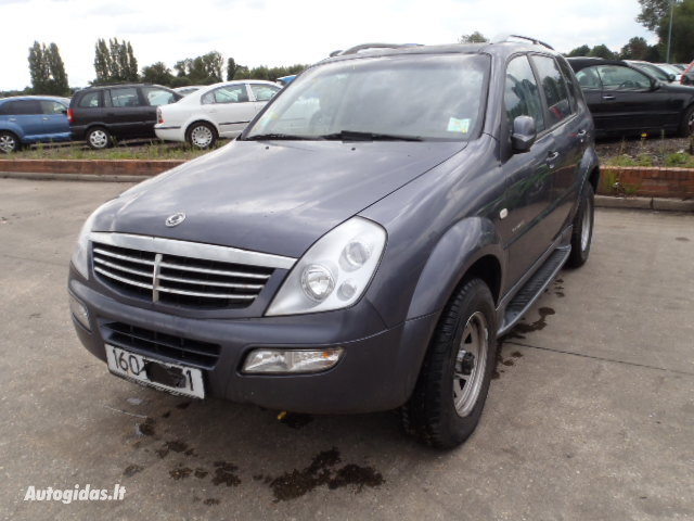 Ssangyong Rexton 2000 y parts