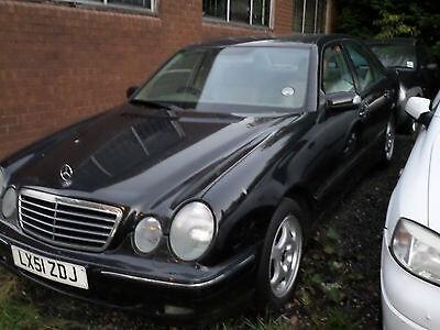 Mercedes-Benz E 220 W210 2001 m dalys