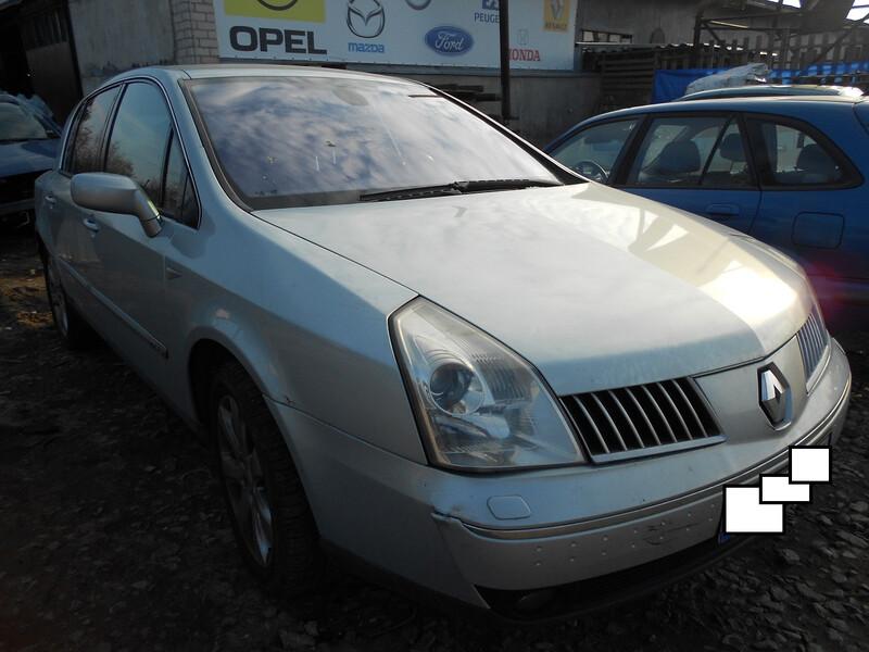 Renault Vel Satis 2004 y. parts