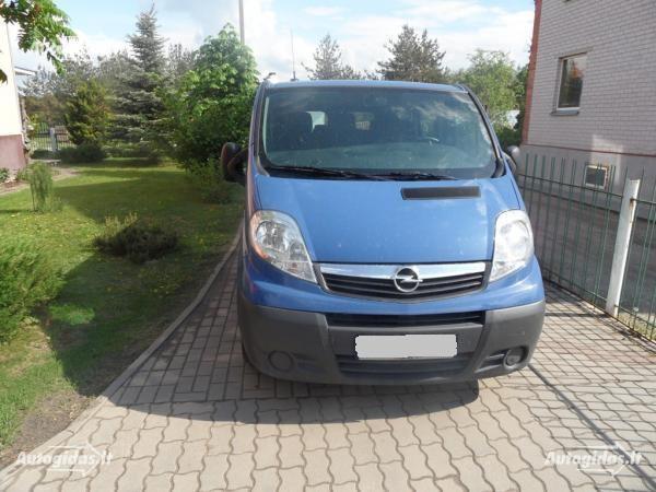 Opel Vivaro 2003 y. parts