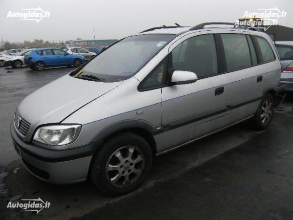 Opel Zafira A 1999 m. dalys