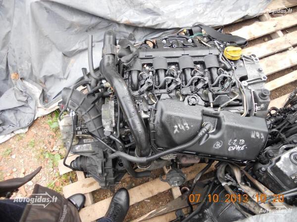 Renault Espace III 2003 y. parts