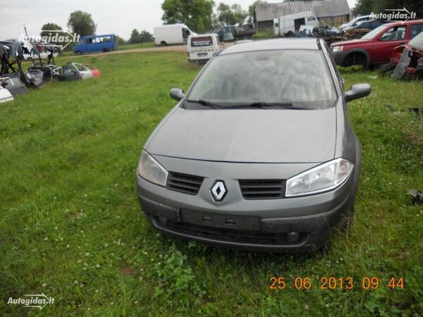 Renault Megane II 2005 y. parts