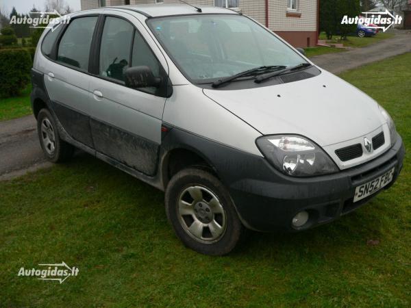Renault Scenic I 2002 m. dalys
